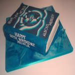 Brave New World Book Cake