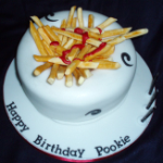 Bowl of Chips Cake