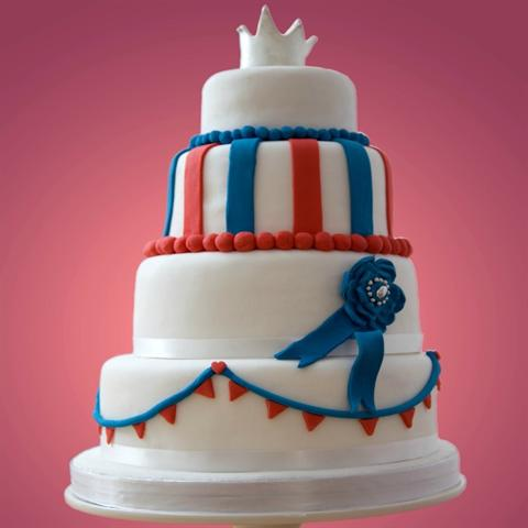 Britannia Royale Wedding Cake