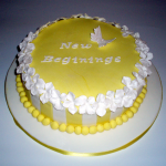 New Beginnings Cake