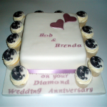 Wedding Anniversary Cake Set