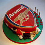 Arsenal Badge Cake
