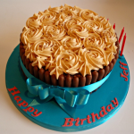 Chocolate and Peanut Butter Celebration Cake