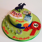 Day at the Races cake