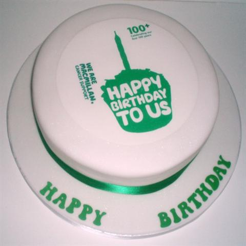 Macmillan Cancer Support Cake