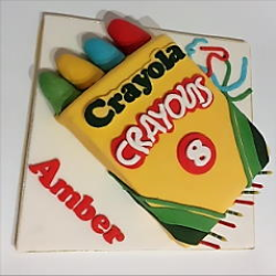 Crayon Box Cake