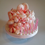 Meringue Kisses Explosion Cake