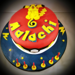 Pokemon-themed cake