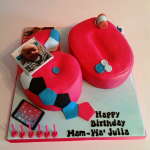 Personalised Number Birthday Cake